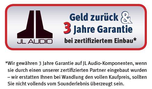 JL Audio 3 Jahres Garantie