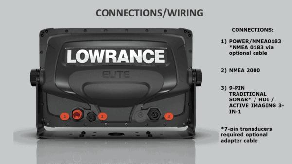 Lowrance Elite-7 Ti2 Fishfinder/Kartenplotter
