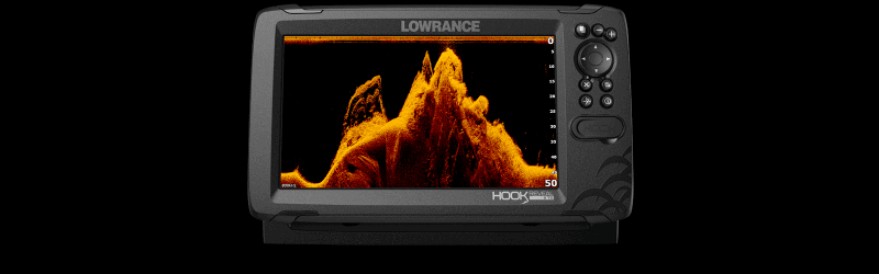 Lowrance Hook Reveal DownScan