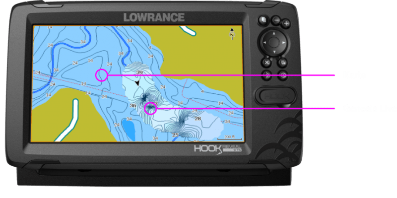 Lowrance Hook Reveal Genesis Diagramm