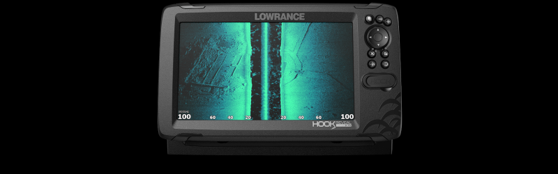 Lowrance Hook Reveal SideScan