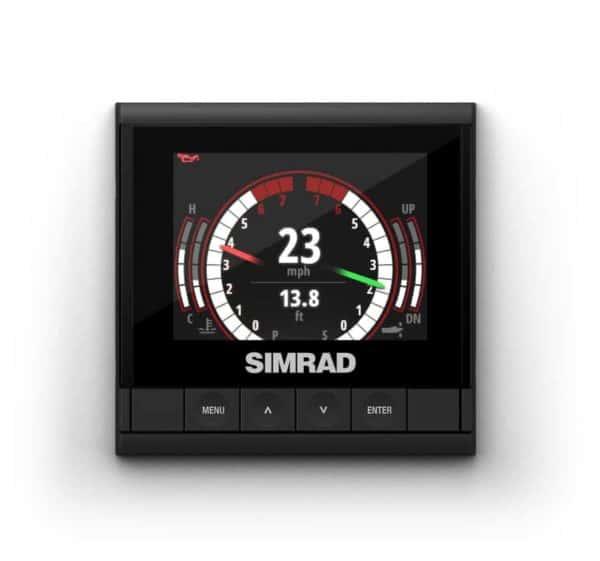 Simrad IS35 Motordaten Instrumentendisplay